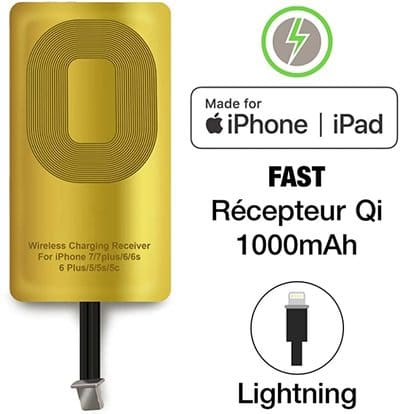 Chargeur Induction Iphone 6 6s